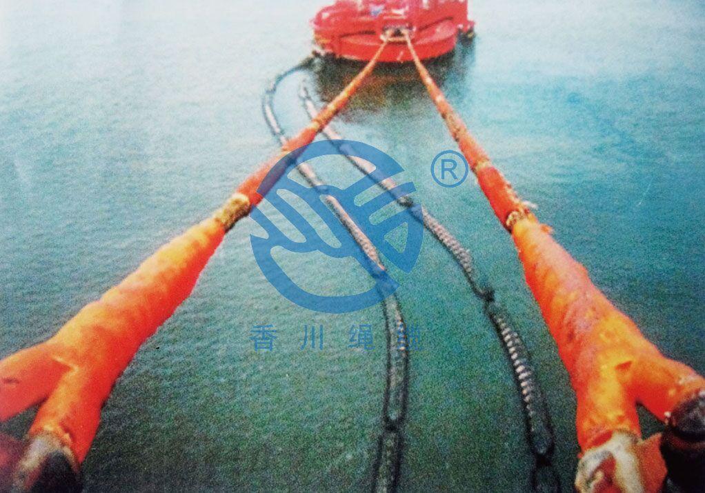 单点系泊缆绳(尼龙双编缆绳)