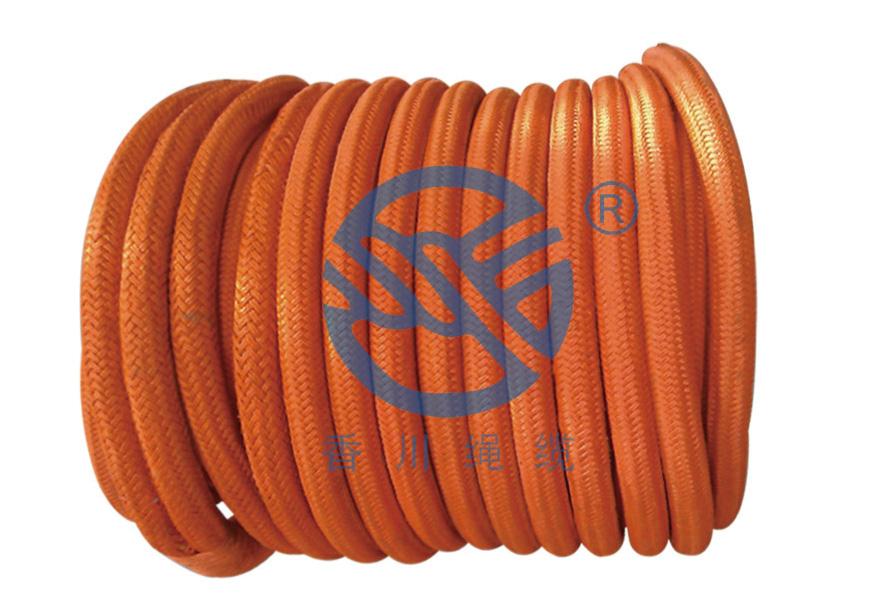 超高分子量聚乙烯纤维包覆缆绳