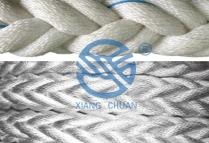 高性能PP纤维和涤纶复丝混合缆绳
